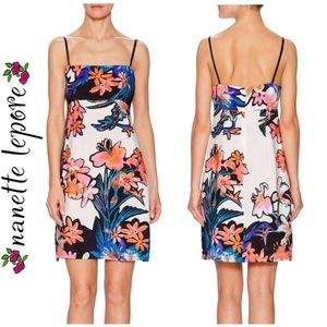 Nanette Lepore Tropical Tease Slip Dress